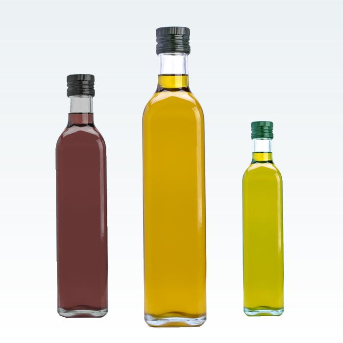 bottiglie monodose olio aceto aceto balsamico pasticceria macelleria zucchero