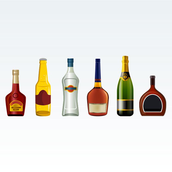 Liquori, spumanti, alcolici in genere